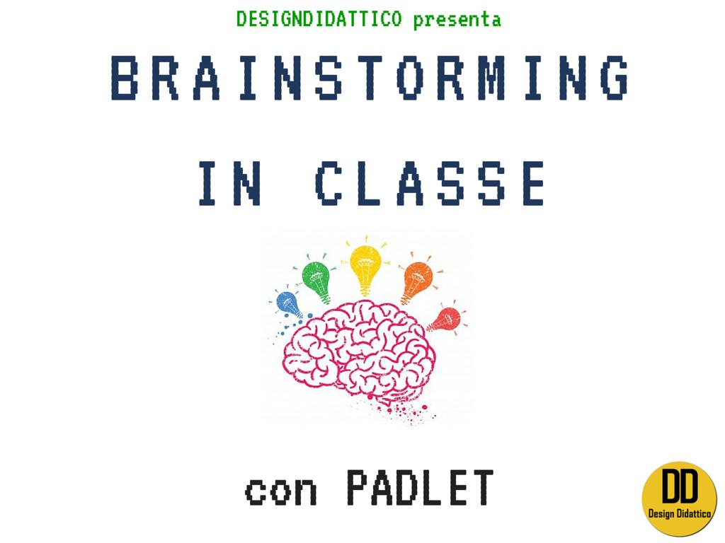 brainstorming padlet