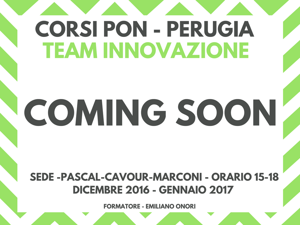 corsi-pg-pon-team2-coming-soon