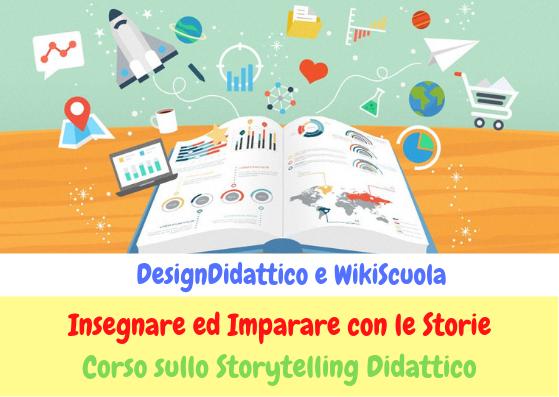 Storytelling Didattico. Il più completo CORSO ONLINE è partito!