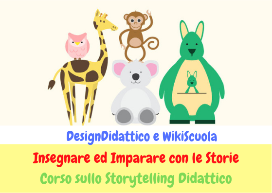 Corso online sullo STORYTELLING DIDATTICO. Per docenti di INFANZIA e PRIMARIA