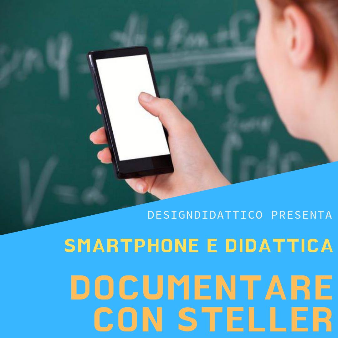 Usiamo l'app Steller per documentare progetti di scuola…e per fare Media Education
